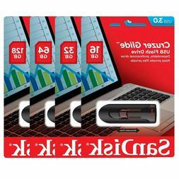 SanDisk Cruzer Glide 16GB 32GB 64GB 128GB 256GB USB 3.0 Flas