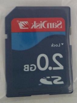 Sandisk 2GB SD Card