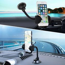 360° Car Windshield Mount Cradle Holder Stand For Mobile Ce