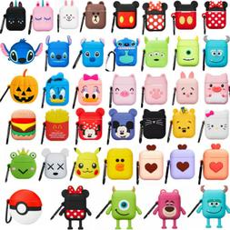 3D Cartoon Silicone Protect For Apple Airpods 2 Charging Cas