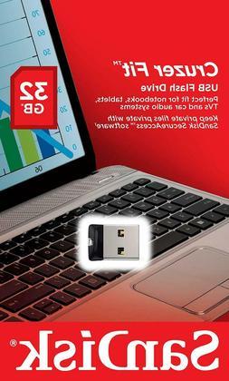 SanDisk 32GB Cruzer FIT SD USB 2.0 Flash Mini Micro Pen Driv