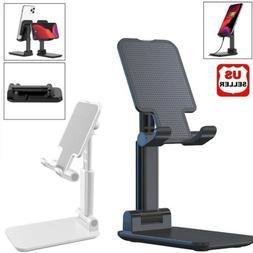 Adjustable Cell Phone Tablet Desktop Stand Desk Holder Mount