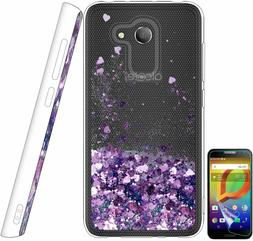 Alcatel A30 / Alcatel Walters TPU Bumper Case Shiny Glitter