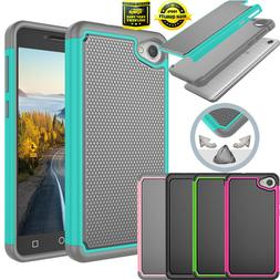 For Alcatel Pulsemix/A50/Crave Shockproof Impact Defender Ru