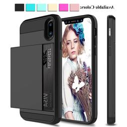 For iPhone 11 Pro Max/XS Max/XR/X Shockproof Case With Walle
