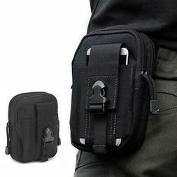 Army Fan Tactical Sports Waist Belt Bag Wallet Cell Phone Po