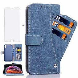 Asuwish iPhone XR 10R Case i Phone Cases Wallet Leather with