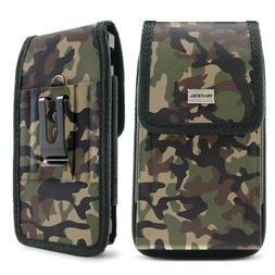 camo cell phone holder pouch w belt