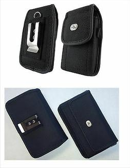 Canvas Vertical / Horizontal Cell Phone Holder Cover Case Po