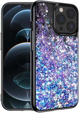 Caka Case for iPhone 13 Pro Max, iPhone 13 Pro Max Glitter C