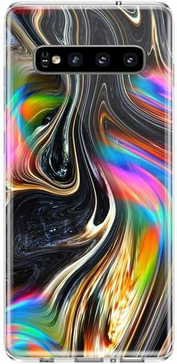Caka Case Galaxy S10 Marble Case Slim Anti Scratch +Glass pr