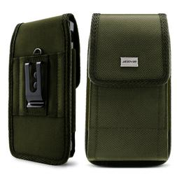 Cell Phone Pouch with Belt Loop & Metal Clip Holster  Evocel