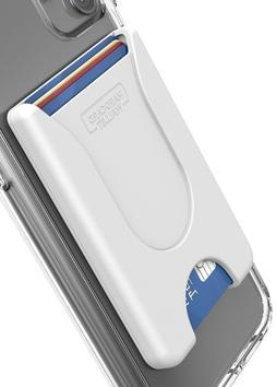 Encased Cell Phone Wallet, Stick On Credit Card Holder - Wor
