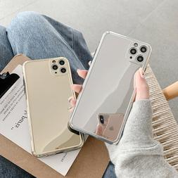 Chrome Luxury Mirror Silver Gold Soft Case For iPhone 7 8 Pl