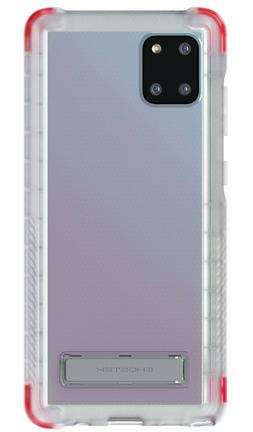 Clear Galaxy Note 10 Lite Shockproof Case with Kickstand   