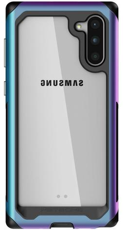 Clear Galaxy Note 10, Note 10 Plus Case with Metal Bumper Gh