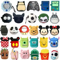 Cute 3D Cartoon AirPods Silicone Case Protective Cover for A