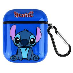 Cute Cartoon Stitch Silicone Airpod Protective Case Cover Sk