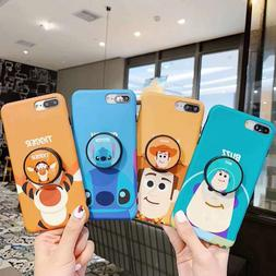 Disney Toys Soft Slim kickstand Case Cover for Apple iPhone
