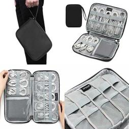 Electronic Accessories Organizer Travel Universal Cabl LARGE