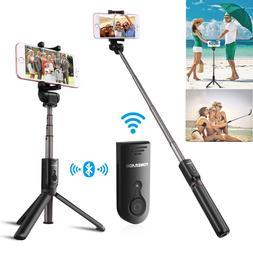 Extendable Bluetooth Selfie Stick Tripod Monopod Remote Cont