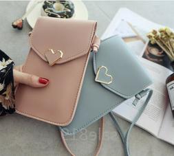 Fashion Case Cover Women 's Shoulder Bag Card Wallet Purse L
