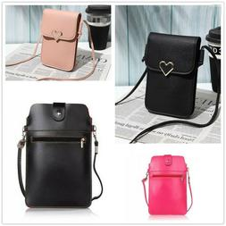 Fashion Case Women's Shoulder Bag Card Wallet Purse Leather
