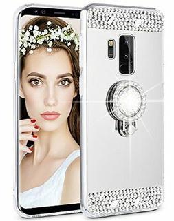 Galaxy S9 Plus Case Caka Glitter Case Mirror Series Luxury S