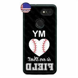 Google Pixel 3 3XL 2XL My Baseball Sports Fan Cell Phone Cas