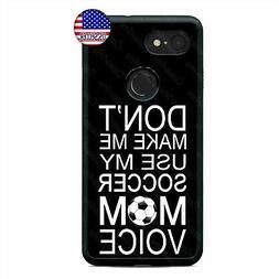 Google Pixel 3 XL 2XL My Soccer Mom Cell Phone Case Sports F