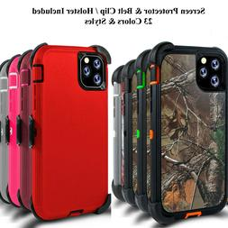 For iPhone 11 / 12 Pro Max Case Cover w/Screen &