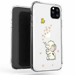 iphone 11 pro max case clear cute