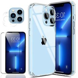 For iPhone 12 Pro Max/Mini/11 Clear Case Slim Cover,Screen P
