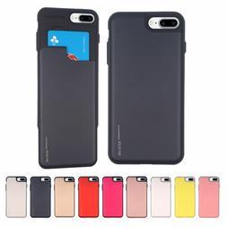 iPhone 6/7/8, 6/7/8 Plus, X GOOSPERY Sky Slide Bumper Cell P