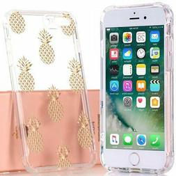 BAISRKE iPhone 7Plus Case, iPhone 8Plus Case with Pineapples