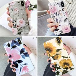 For Iphone 12/11 Pro Max 8 Plus XR Shockproof Flower Cute Gi