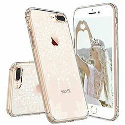 iPhone 8 Plus Case, iPhone 8 Plus Clear Case,MOSNOVO White H