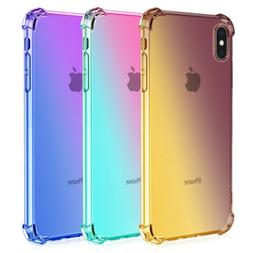 For iPhone XR, X/XS,XS Max 7 8 Plus Shockproof Ultra Slim Cl