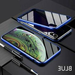 For iPhone XR XS Max 6 7 8 Plus Magnetic Adsorption Double S