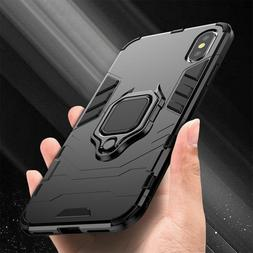 For iPhone 11 Pro X XR XS Max 7 8 6 Plus Hybrid Magnetic Sta