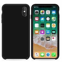 YASSUN iPhone Xs Max Case, Liquid Silicone Gel Rubber Soft M