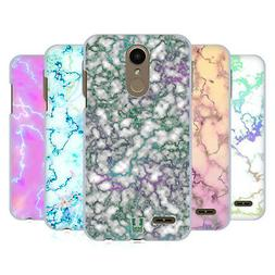 HEAD CASE DESIGNS IRIDISCENT MARBLE BACK CASE FOR LG PHONES