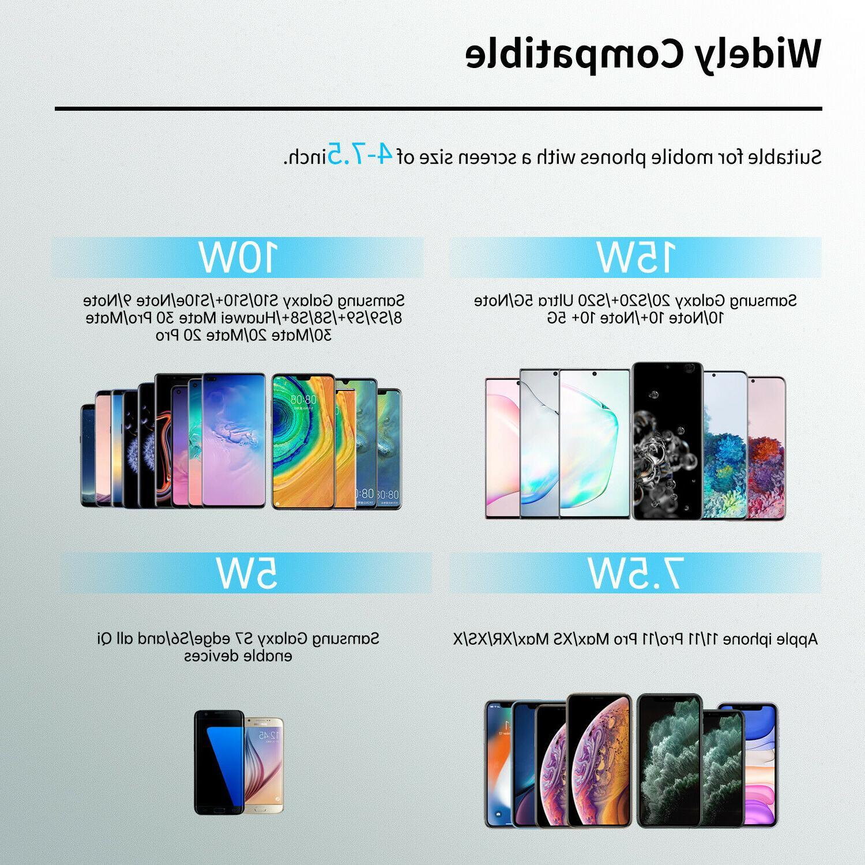 15W Qi Car Fast Samsung