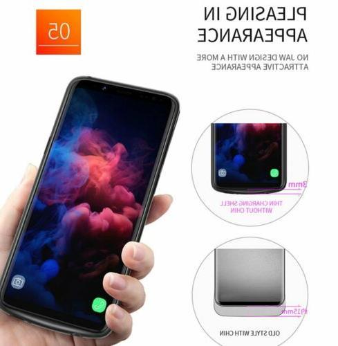 8000mAh Galaxy S9 Charging