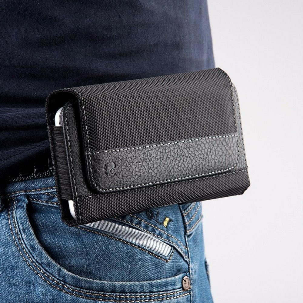 Heavy Horizontal Phone Pouch Case Holder Holster Carrying Clip