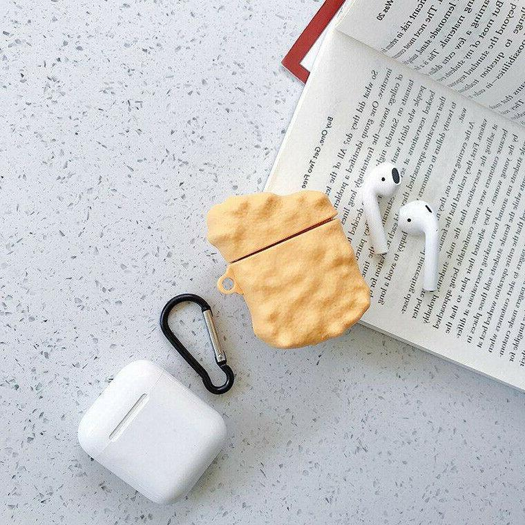 Airpods Case Cute Cartoon Silicone Skin Protective For Apple 1 2