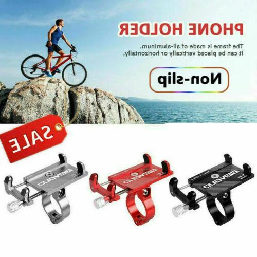 Aluminum Bicycle Motorcycle Bike MTB Handlebar Cell Phone GPS