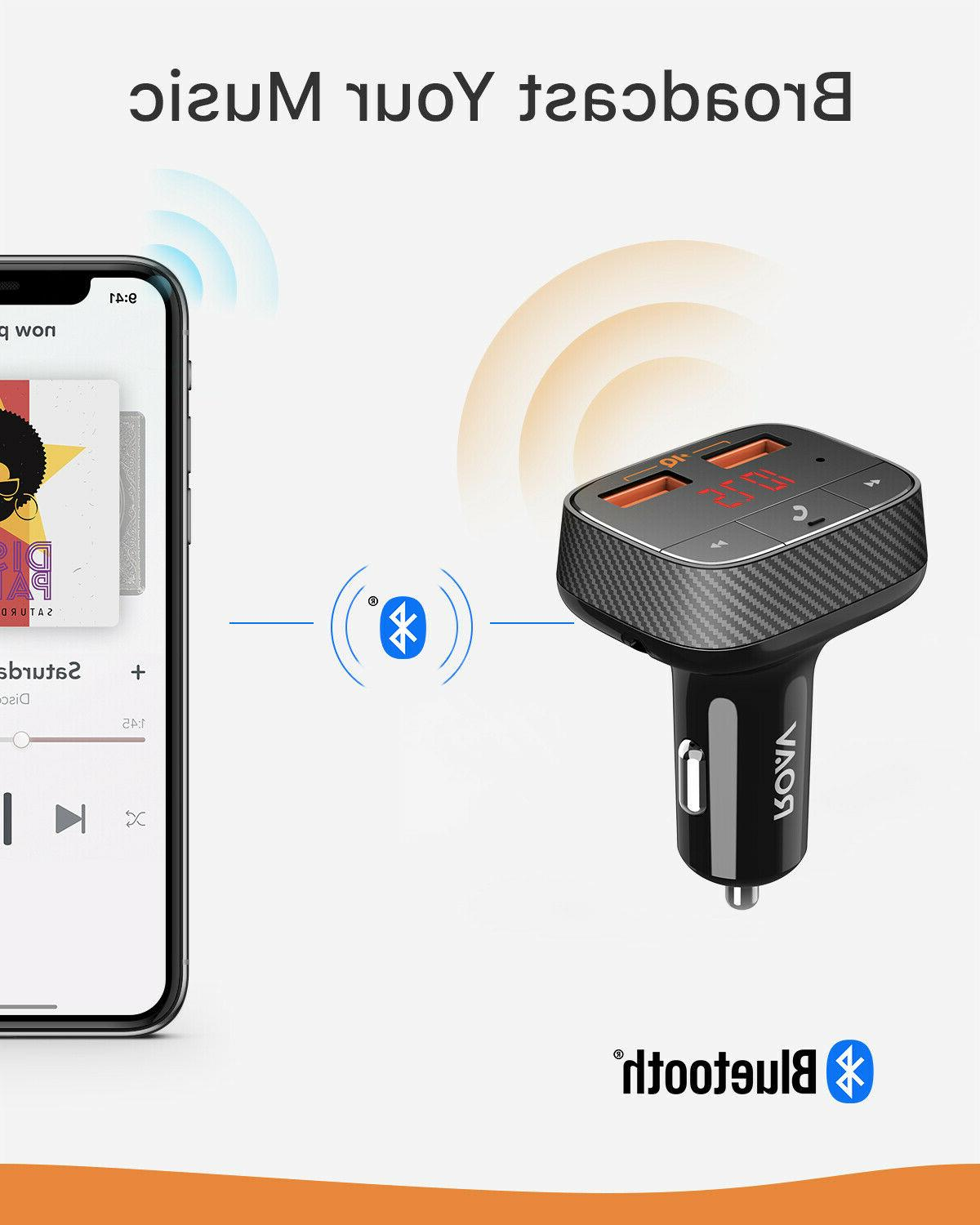 Anker Car Charger Bluetooth Adapter Hand-Free