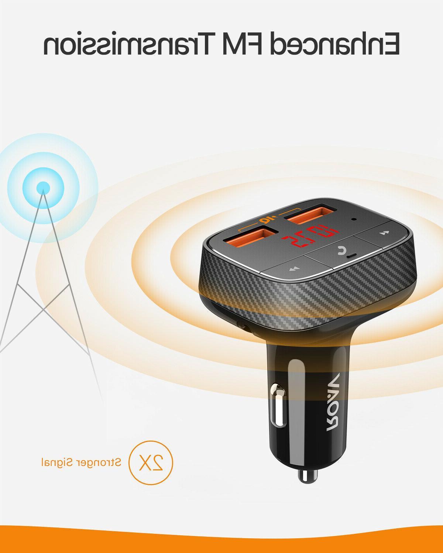 Anker Roav Car Bluetooth Transmitter Adapter