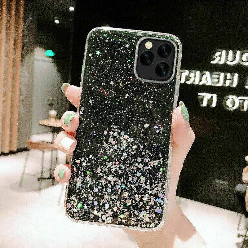 iPhone 11 8 7 MAX Bling Quicksand Girl